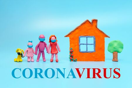 the family protects against coronovirus, flu or other infection