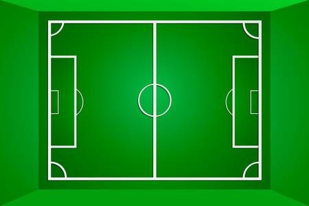 sideline: Vector verde campo de f�tbol o campo de f�tbol, ??campo de f�tbol. Eps 10