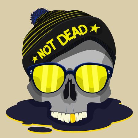 skull punk star design Imagens - 56714412