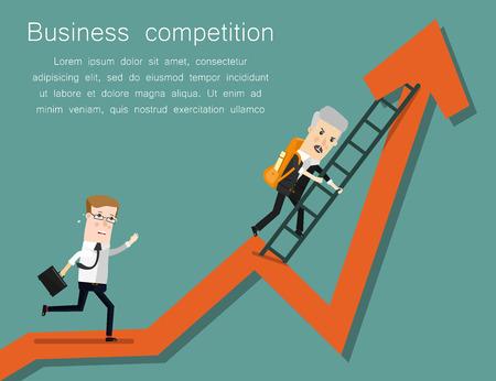 Finish Line. Concept business vector illustration Imagens - 58724888