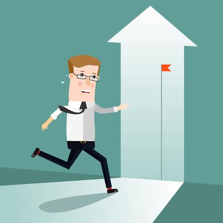 Start Up. Concept business illustration. Vector Eps 10