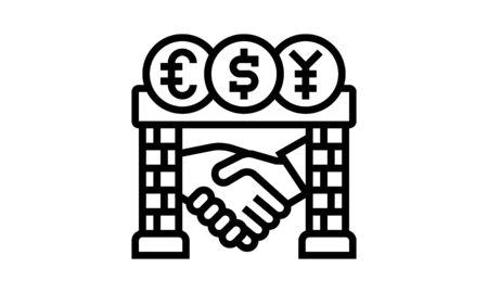 Brokerage Vectors Icon Vector Illustrations