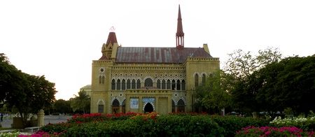 KARACHIPAKISTAN FRERE HALL (OPERA & LIBRARY ) IS ONE OF THE MANY REMNAT BUILDING OF THE BRITISH COLONIAL ERA THAT EXIST IN KARACHI. TODAY ON  SUNDAY 20 JANUARY 2013