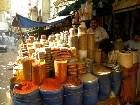 financal: KarachiPakistan : Varieties of garam masala, common in Pakistan on Thursday 31 January 2013. 2013