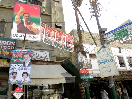 KARACHI:PAKISTAN_THE GOVERNMENT OF PAKISTAN HAS ACCOUNCED ELECTION TO BE HELD ON 11 MAY 2013 AFTER ALL THIS, ALL POLITICAL  STARTED POLITICAL COMPAIGN THROUGH POSTERS BANNERS BILLBOARDS SPENDING MILLONS OF DOLLARS IN ELECTION COMPAIGN HERE ON FRIDAY 3  Editorial