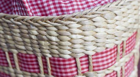 rattan: texture of rattan basket