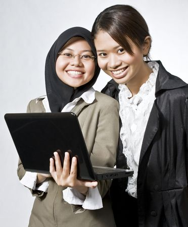 Portrait of the successful businesswomen