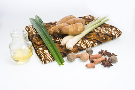 Spa concept - a traditional herbal treatment