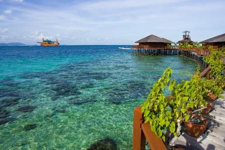 mabul: The beauty of marine life in Mabul Island Stock Photo