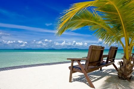 Tropical island in Borneo Standard-Bild