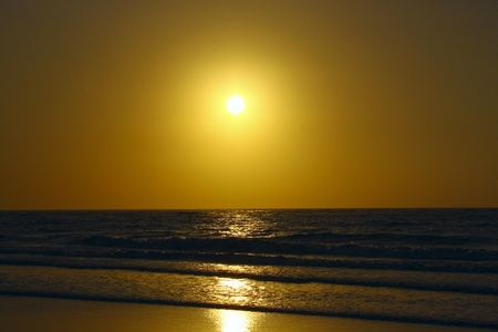 Sunset at Dalit Beach Tuaran photo