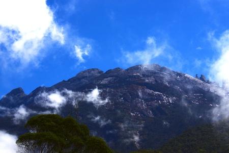 Peak of Mount Kinabalu, Kundasang, Sabah, Malaysia