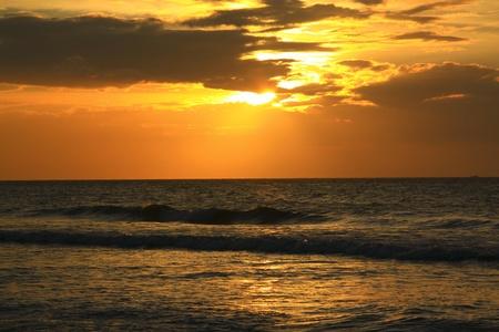 tuaran: Sunset view at Dalit Beach, Tuaran, Sabah, Malaysia