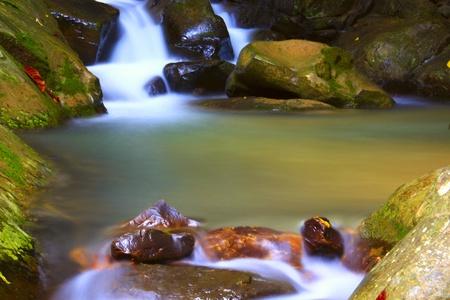 Kionsom Waterfall, Inanam, Kota Kinabalu, Sabah, Malaysia Stock Photo - 9171379