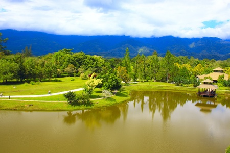 scenary: Panoramic view of Sabah Landscape