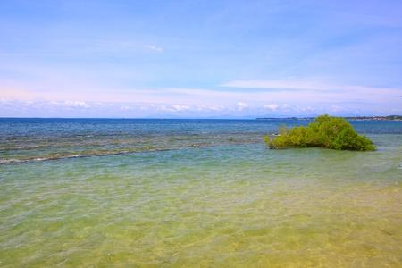 Sea view at Bak-Bak Beach, Kudat, Sabah, Malaysia photo