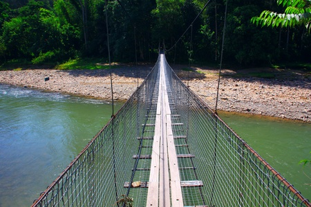 Beautiful landscape view at Kiulu, River, Tuaran, Sabah Stock Photo - 10689900