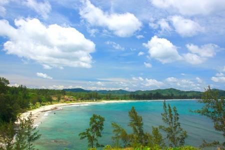 Tip of Borneo view at Simpang Mengayau, Kudat, Sabah, Malaysia photo