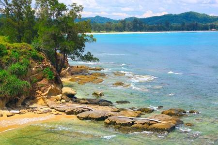 Tip of Borneo view at Simpang Mengayau, Kudat, Sabah, Malaysia Stock Photo - 10846742