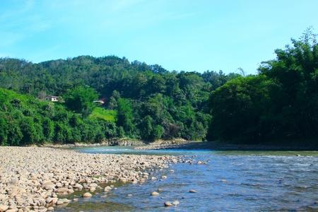 tuaran: Beautiful landscape view at Kiulu, River, Tuaran, Sabah
