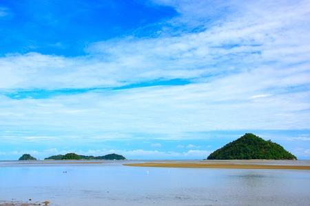 Beautiful landscape during morning time at Kinarut Beach, Kota Kinabalu, Sabah, Malaysia Stock Photo - 11097526