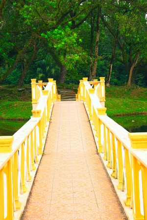 Panoramic view of public lake garden at Taiping, Perak, Malaysia Stock Photo - 11238752