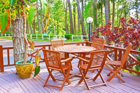 Landscape view of public garden at Kundasang Ranau, Sabah, Malaysia Stock Photo - 13368482