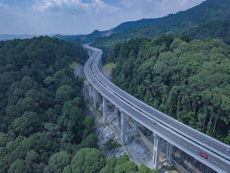 This rawang bypass highway, highest highway in malaysia