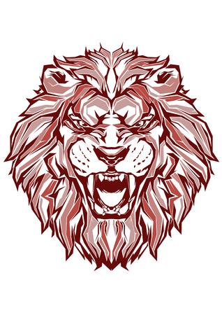 Pop Art of Lion