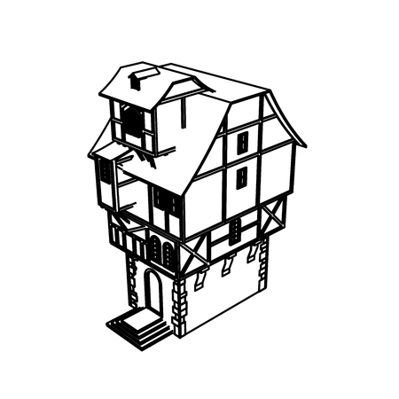 Line Art design of home space Archivio Fotografico - 112417909