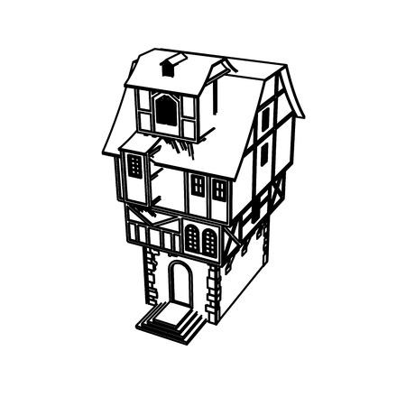 Line Art design of home space Archivio Fotografico - 112417910