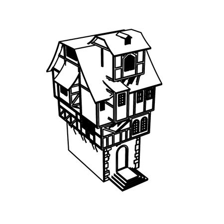 Line Art design of home space Archivio Fotografico - 112417914