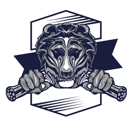 Design of Grizzly Illustration