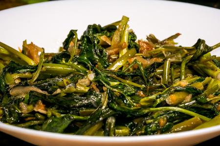 Malaysian vegetable dish Stock Photo