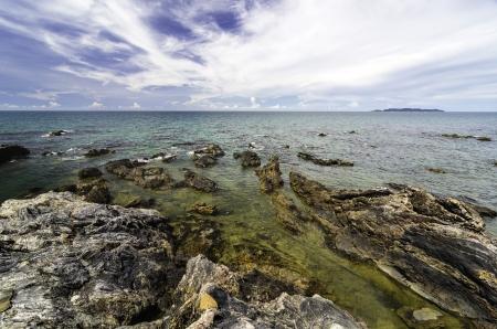 terengganu: beautiful day at Pantai Pandak, Kuala Terengganu, Malaysia