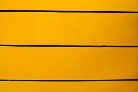 The wall, yellow, black. photo
