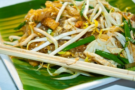 thai noodle: Chicken Pad Thai