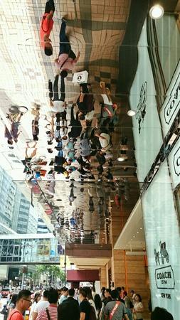 hk: People in HK Stock Photo