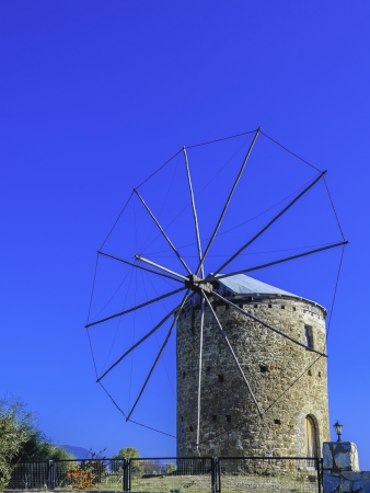 mugla: Traditional Old Windmill in Datca, Mugla