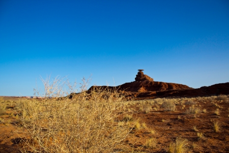 a view of Mexican Hat; Utah; USA