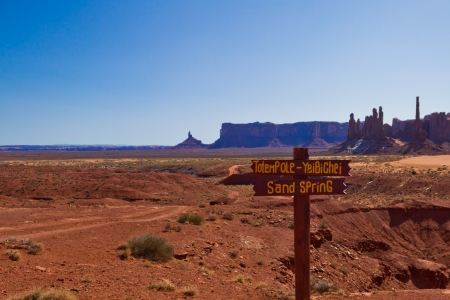 Sand Spring at Monument Valley photo