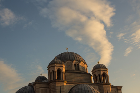 trieste: Serbian-Orthodox church in Trieste Stock Photo