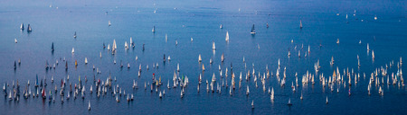 one of the biggest regatta in the world: the Barcolana