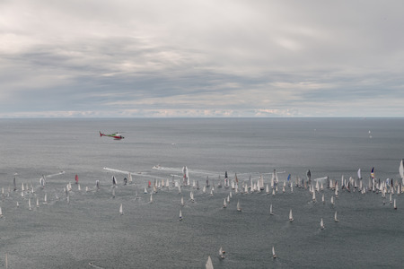 regatta: one of the biggest regatta in the world: the Barcolana