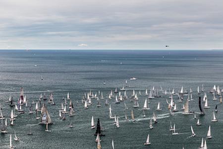 barcolana: one of the biggest regatta in the world: the Barcolana