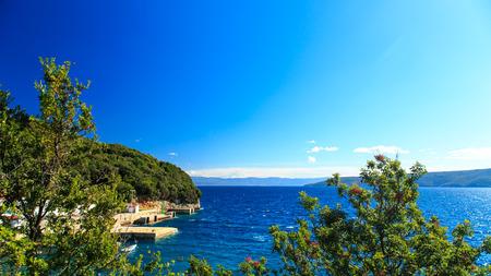 a sunny day at the sea in Croatia Reklamní fotografie