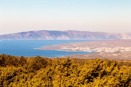 Sunny spring day on Dalmatian islands