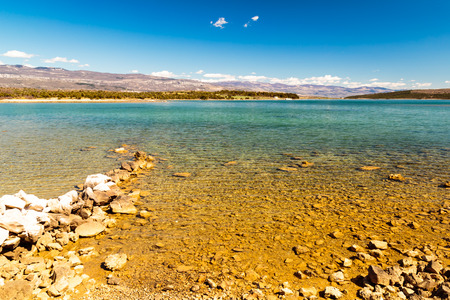 Seascape of Dalmatian islands