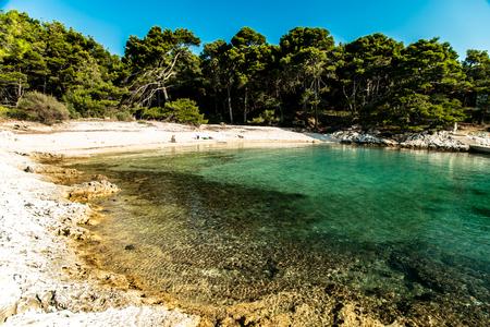 a regatta in the sea of Croatia Stock Photo