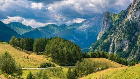 Summer day in the alps of Friuli Venezia-Giulia, Italy